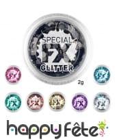 Paillettes confettis cosmétiques