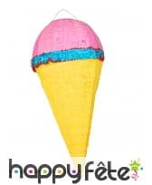 Pinata cornet crème glacée