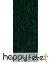 Papier crepe décor vert bouteille de 0.70x10m