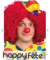 Petit chapeau de clown coloré, aléatoire, image 1