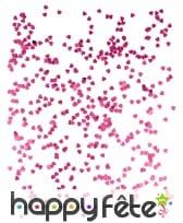 Petits confettis en forme de coeurs métallisés, image 1