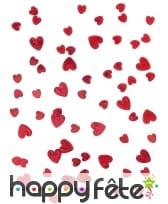 Petits confettis en forme de coeurs métallisés, image 6