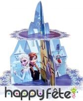 Présentoir cupcakes en carton, La reine des neiges