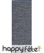 Papier crepon gris de 50 x 200 cm