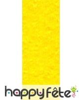 Papier crepon jaune canari de 50 x 200 cm