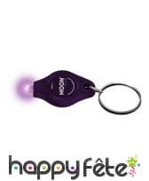 Porte clef lumière UV