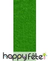 Papier crepon vert clair de 50 x 200 cm