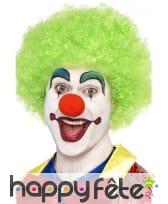 Perruque clown verte, image 1