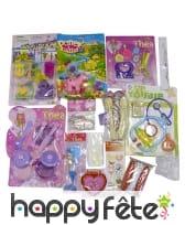Paquet de 15 jouets filles assortis