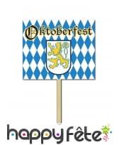 Panneau déco aux couleurs de Oktoberfest 30x38cm