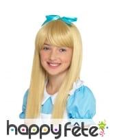 Perruque de Alice pour enfant