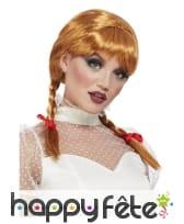 Perruque de Annabelle pour femme