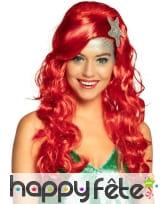 Perruque de Ariel pour femme