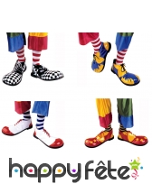 Paire de chaussures de clown pour adulte, image 1