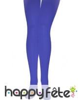 Paire de collants bleus opaques, image 1