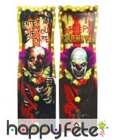 Panneau de clown terrifiant lenticulaire de 94cm