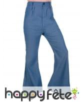 Pantalon disco couleur Jeans pour homme
