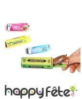 Paquet de chewing-gum blagueur