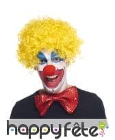 Perruque de clown pour adulte, image 2