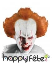 Perruque du clown Ça pour adulte