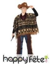 Poncho de cowboy du Far west pour enfant