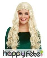 Perruque de Daenerys Targaryen pour femme