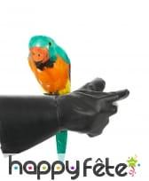 Perroquet d'épaule décoratif et multicolore, 38cm, image 1