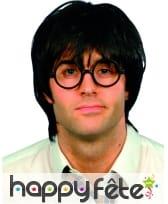 Perruque d'ecolier et lunettes