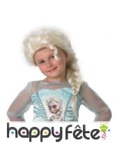 Perruque d'Elsa pour fillette