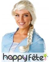 Perruque de Elsa La Reine des neiges 2 pour adulte