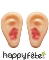 Paire de fausses oreilles géantes en plastique, image 1