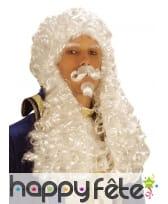 Perruque de François premier