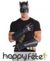 Paire de gants Batman pour homme, Justice League