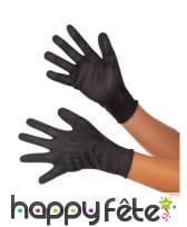 Paire de gants de la Veuve noire pour femme