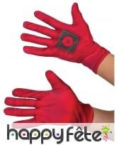 Paire de gants Deadpool pour adulte