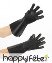 Paire de gants en simili cuir pour adulte, image 2