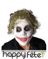 Perruque de Joker bouclée pour adulte