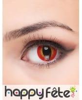 Paire de lentilles yeux du diable