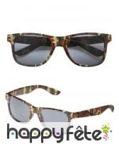 Paire de lunettes camouflage, image 2