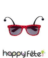 Paire de lunettes coccinelle, image 1