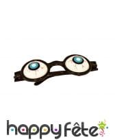 Paire de lunettes gros yeux globuleux pour adulte