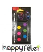 Palette de maquillage 6 couleurs UV