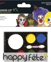 Palette de maquillage 7 couleurs