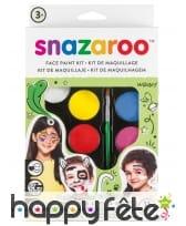 Palette de maquillage pour enfant, Snazaroo