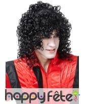 Perruque de Michael Jackson bouclée, image 1