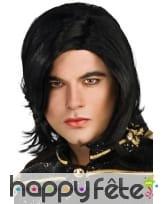 Perruque de Michaël Jackson pour adulte