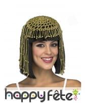 Perruque de Reine Egyptienne pour femme