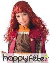 Perruque de Sansa Stark pour enfant