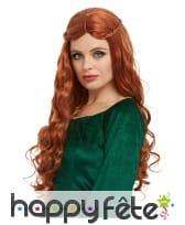 Perruque de Sansa Stark pour femme
