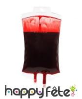Poche de sang décorative de 16cm